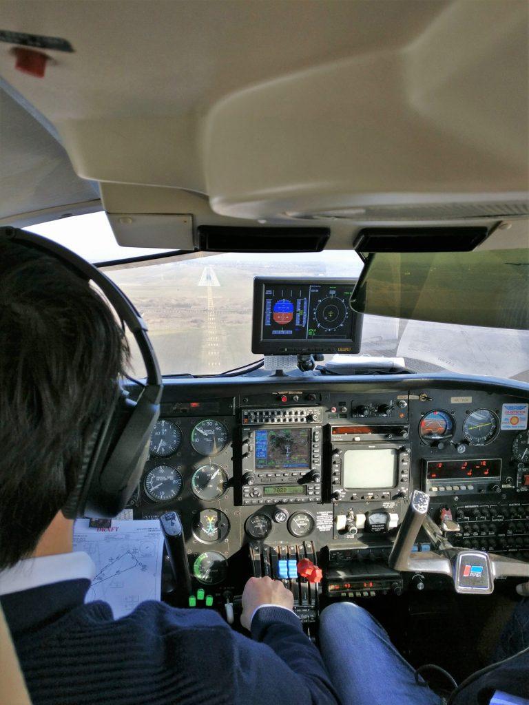 pilóta vízió